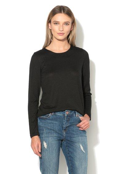 Vero Moda Bluza neagra cu bretele incrucisate pe spate Lacey