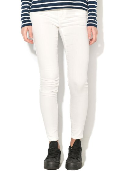 Only Jeansi skinny regular fit albi Rain