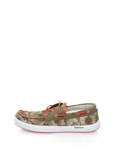 Timberland Pantofi boat din plasa cu imprimeu camuflaj Seneca