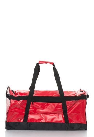 Geanta sport convertibila rosu cu negru Tarbag