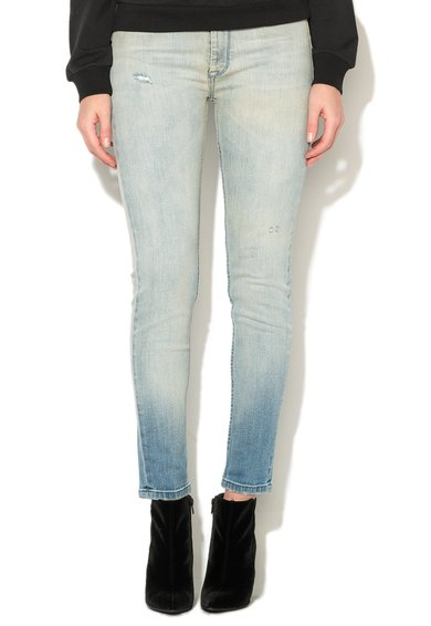 Jeansi bleu slim fit Nebraska de la Met Jeans