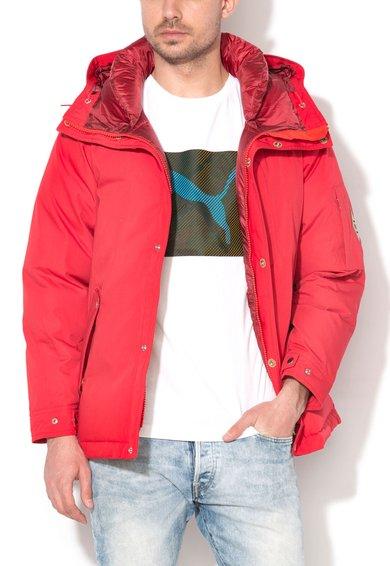 FashionDays.ro: Jacheta rosie cu umplutura de puf si gluga Monster Puma