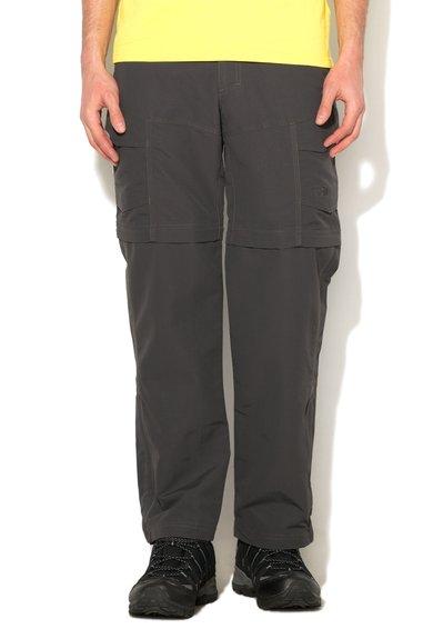 Pantaloni convertibili gri inchis Paramount