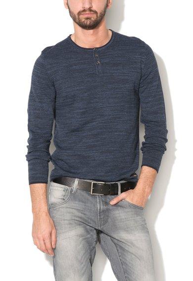 EDC by ESPRIT Pulover albastru melange tricotat fin