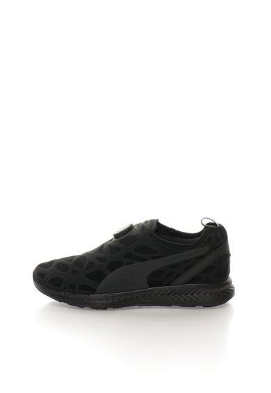 FashionDays.ro: Pantofi pentru alergare negri Disc Ignite Puma