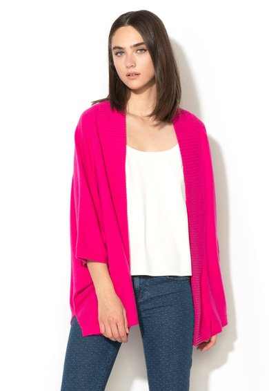 Juicy Couture Cardigan fucsia fara inchidere de casmir