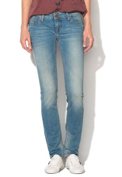 FashionDays.ro: Jeansi slim fit skinny bleu Gina Mustang