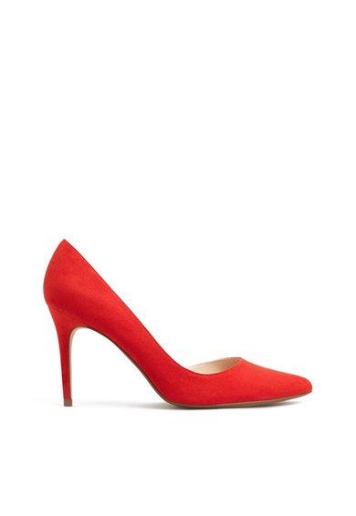 Pantofi D'Orsay rosii