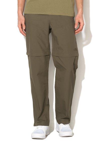 FashionDays.ro: Pantaloni convertibili verde militar Horizon The North Face
