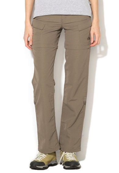 FashionDays.ro: Pantaloni convertibili maro nisip Paramount The North Face