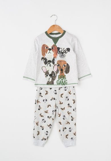 Pijama gri melange de la Undercolors of Benetton