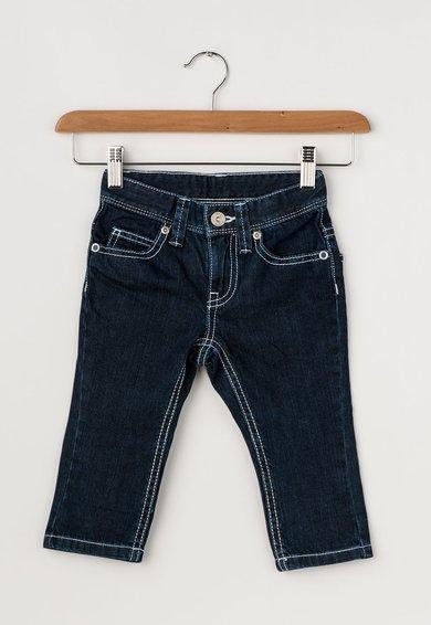 Jeansi bleumarin cu cusaturi contrastante de la United Colors Of Benetton
