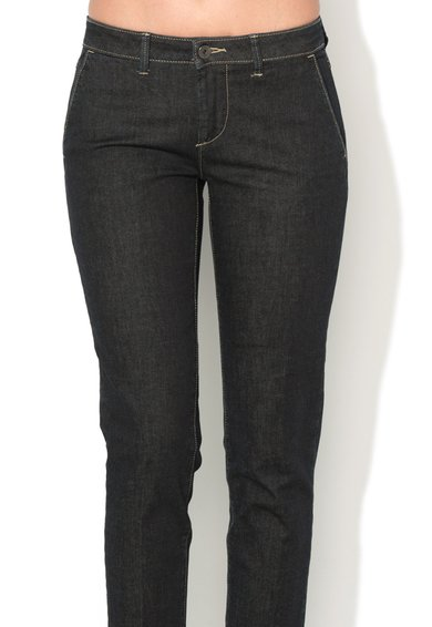 United Colors Of Benetton Jeansi skinny bleumarin inchis Femei image_4
