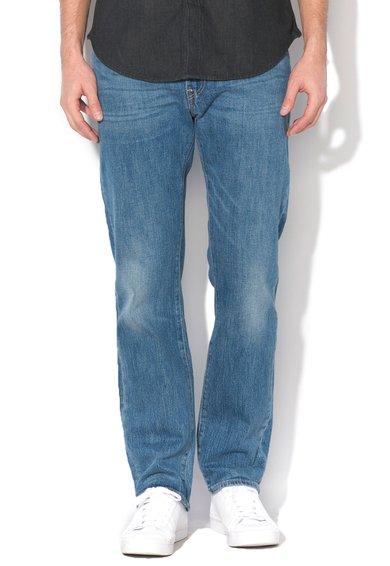 FashionDays.ro: Jeansi regular fit drepti albastri 504 Levis