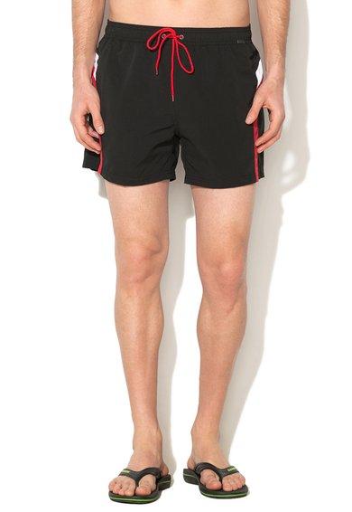 Pantaloni scurti de baie negri Basic Instinct de la Skiny