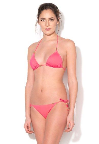 Sutien halter de baie roz neon Ocean Love de la Skiny
