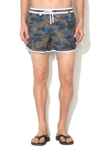 Pantaloni scurti de baie multicolori cu imprimeu Short Mix de la Skiny