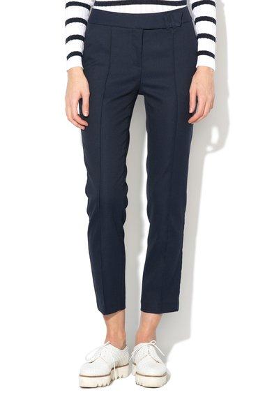 FashionDays.ro: Pantaloni crop bleumarin United Colors Of Benetton