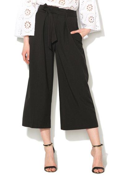 FashionDays.ro: Pantaloni culotte negri cu funda Closet LONDON
