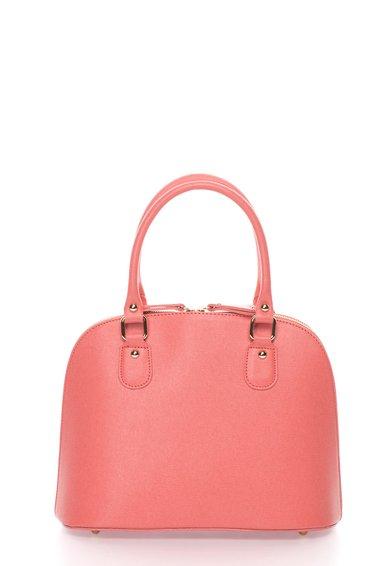 FashionDays.ro: Geanta roz somon de piele saffiano Zee Lane
