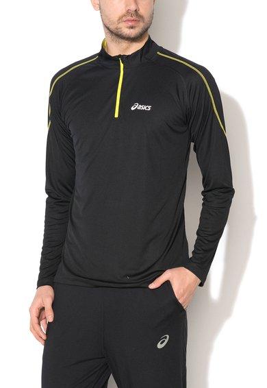 Bluza neagra pentru alergare de la Asics
