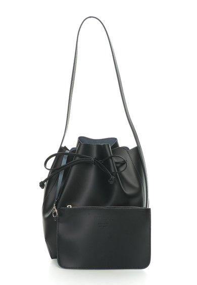 Geanta bucket neagra de piele Anny de la Zee Lane Collection