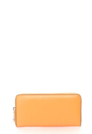 FashionDays.ro: Portofel oranj de piele cu fermoar COCCINELLE