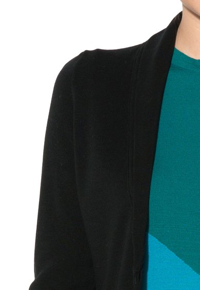 United Colors Of Benetton Cardigan negru de jerseu Femei image_3