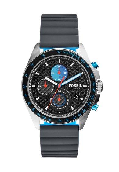 FashionDays.ro: Ceas cronograf argintiu cu gri antracit Fossil