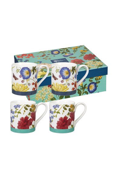 Churchill Set de cani Butterflies And Blooms – 4 piese