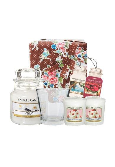 Yankee Candle Set cadou Sweet Vanilla – 6 piese