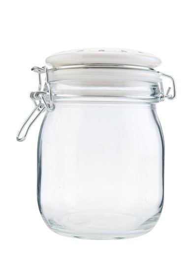 Recipient de sticla pentru depozitare cu capac de la Clayre  Eef