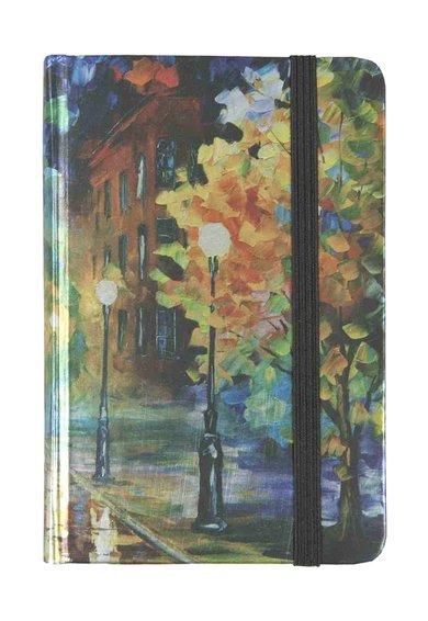 Clayre  Eef Carnetel multicolor cu imprimeu inspirat de natura