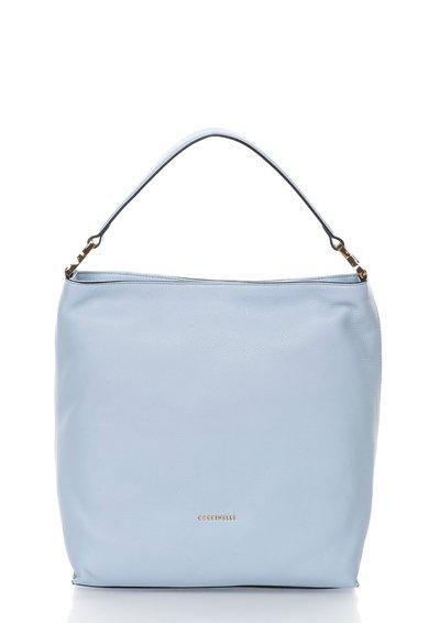 FashionDays.ro: Geanta hobo albastru pastel de piele Arlettis COCCINELLE