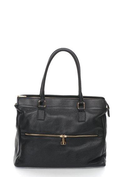 FashionDays.ro: Geanta tote neagra de piele Zee Lane Collection