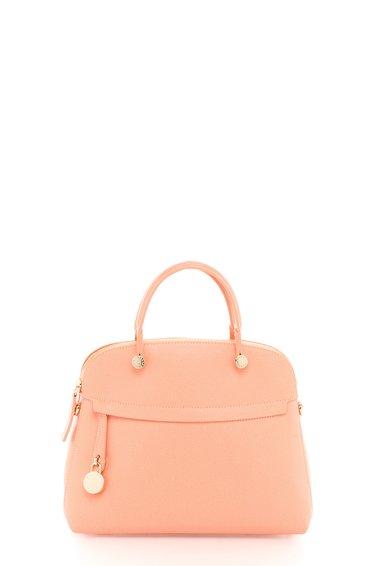 FashionDays.ro: Geanta roz somon de piele Piper Furla