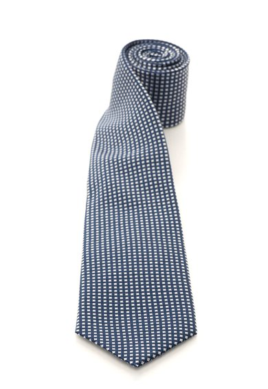 FashionDays.ro: Cravata albastru inchis cu alb de matase in carouri Vincenzo Boretti