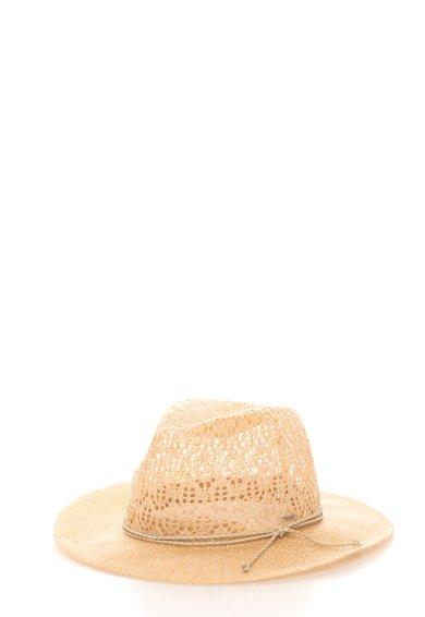 FashionDays.ro: Palarie bej cu detaliu impletit Leana Pepe Jeans London