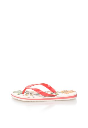 Papuci flip-flop rosu capsuna Colibri