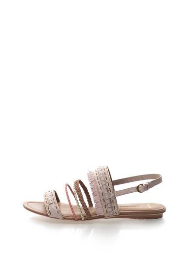 AERIN Sandale roz cu maro Luz